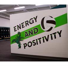 Farmington High School Wall Graphics
