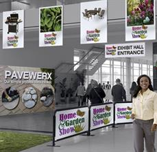 Tradeshow Banners, Breeze Barriers, and Displays
