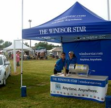 The Windsor Star Custom Tent