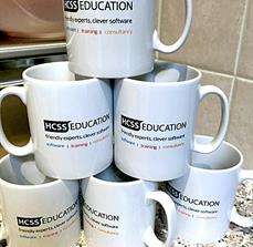 HCSS Promotional Custom Coffee Mugs