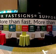 FASTSIGNS Trade Show Display