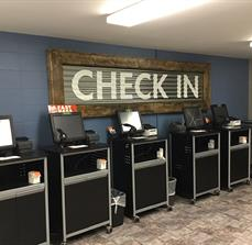 Lakeside Christian Church Check In Sign