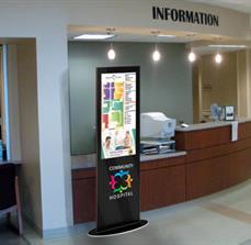 Hospital Digital Kiosk