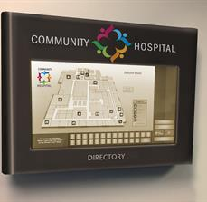 Community Hospital Digital Map