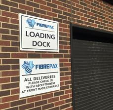 FibrePax Building Signs