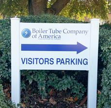 Boiler Tube Company of America Outdoor Wayfinding Sign