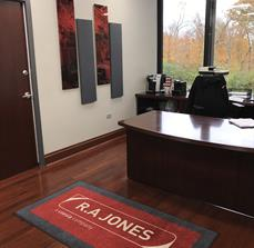 R.A. Jones Floor Mat