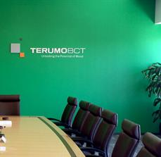 Terumo BCT Dimensional Wall Letters