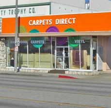 Carpets Direct Window Graphics and Building Sign After