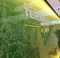 Terumo BCT Lobby Dimensional Letters On Glass
