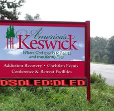 America's Keswick Site Sign After