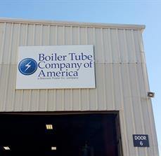 Boiler Tube Company of America Building Sign