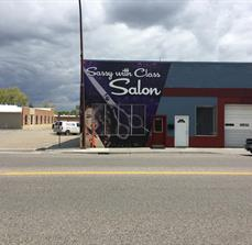Sassy With Class Salon Building Graphics
