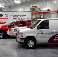 Tobin Cleaning & Restoration Vehicle Graphics