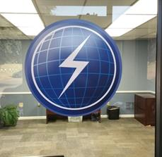 Custom Window Vinyl Logo