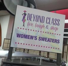 Beyond Class Interior Sign