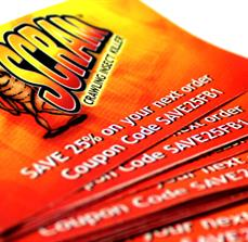Scram Custom Business Cards