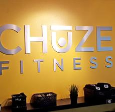 Chuze Fitness Dimensional Wall Letters