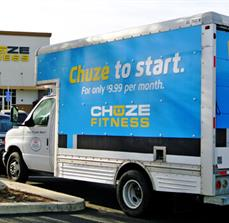 Chuze Fitness Vehicle Graphics
