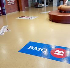 Lobby Floor Graphics