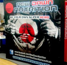 New Dawn Nutrition Trade Show Display