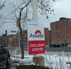 Assured Automotive Pole Sign