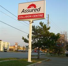 Assured Automotive Pole Sign