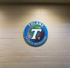Tulane University Wall Sign