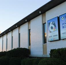 WOWT Illuminated Building Signs