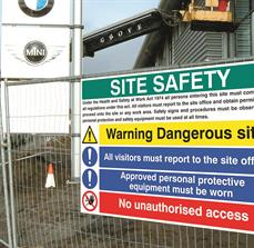 Business safety signs
