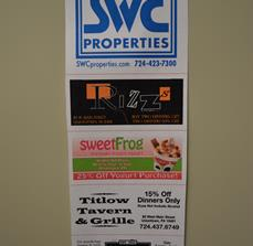Promotional sale posters
