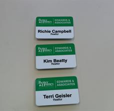 Edwards And Associates Name Tags