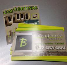 Custom sales mailers