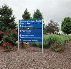 Seminary School Directional Signs