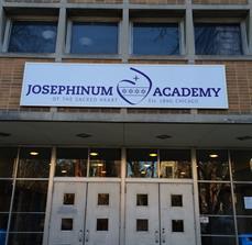 Academy exterior signage