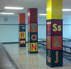 Custom school signs for classrooms
