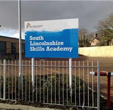 Academy Site Signs