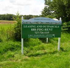 Development site signs