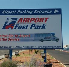 Airport Parking Site Signs