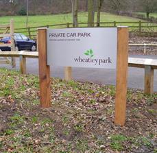 Car Park Site Signs