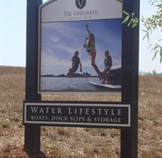 Water Activities Site Signs