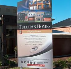 Residential homes site signs