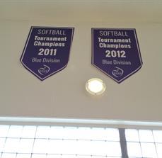 Athletic championship banner