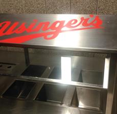 Condiment station graphics