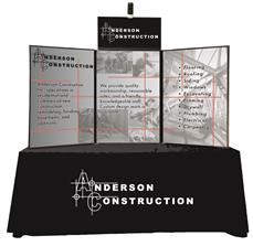 Table top graphics for conference