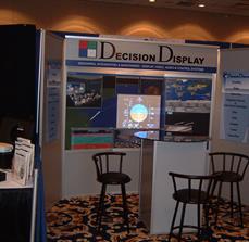 Digital signs at trade shows