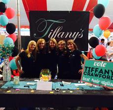 Salon trade show displays