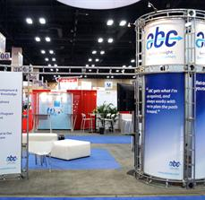 Large trade show booths