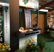 College trade show displays