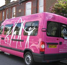 Community transportation decals